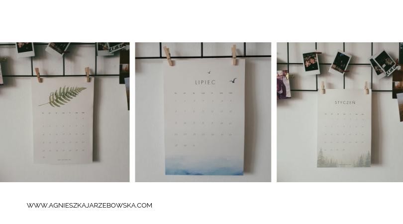 kalendarz 2019 do druku za darmo